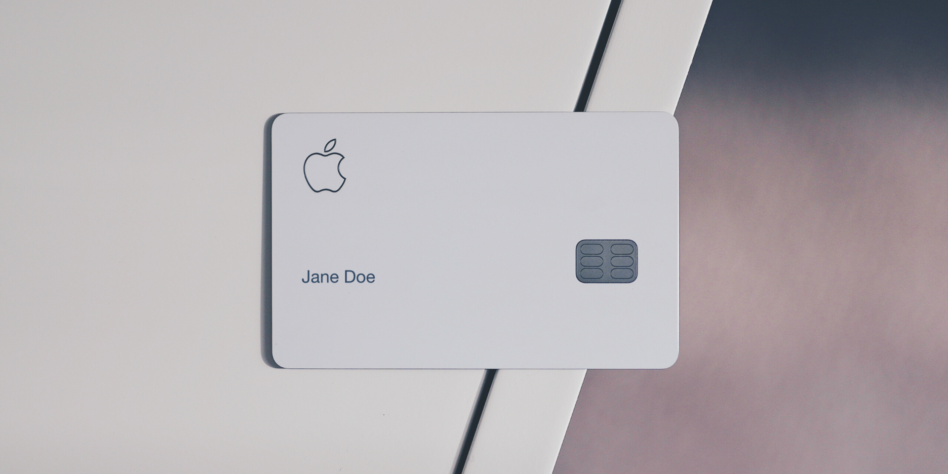Apple Card front design